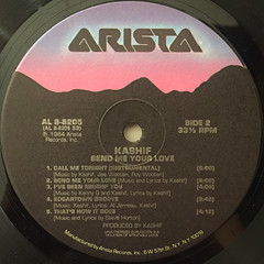 KASHIF:SEND ME YOUR LOVE(LABEL SIDE-B)