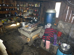 Kitchen in Shangri-La Home