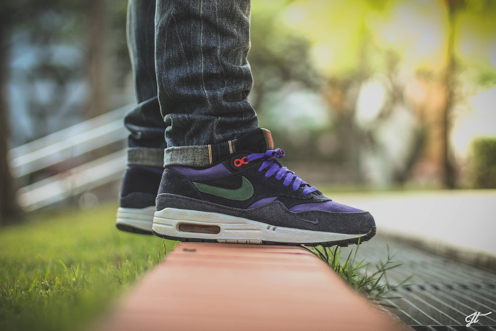 Air Max 1 Patta Purple