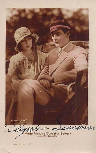 Marja Malicka and Zbyszko Sawan in Dzikuska (1928)