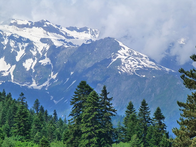 Montañas del Cáucaso (Svaneti, Georgia)