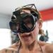 Natasha Testing Scuba Mask