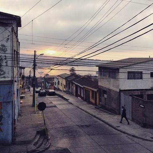 Cerro Barón #Valparaíso #Chile 🚶🌅