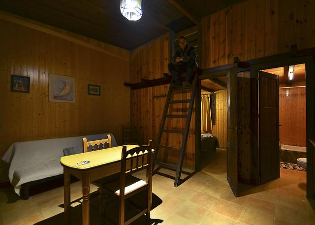 Mi habitación en el camping de las Alpujarras