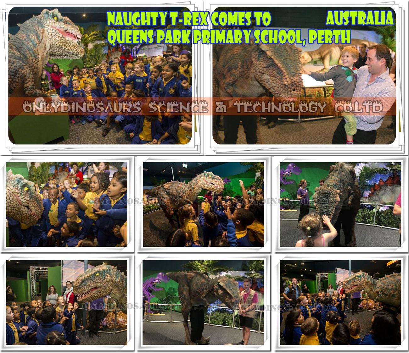 Showing Walking Dinosaur Projects Animatronic Dinosaur