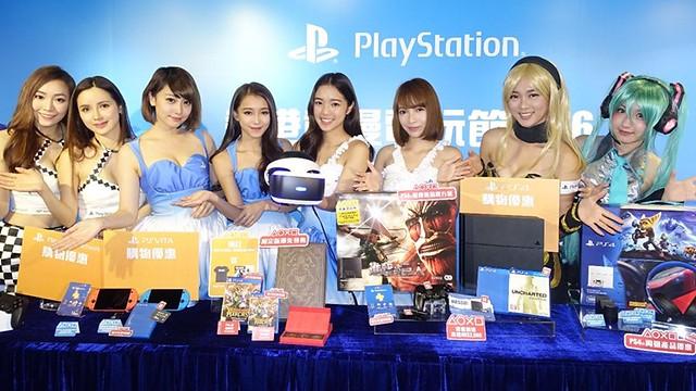 香港動漫電玩節2016 - PlayStation®打造全港最大型「PS VR體驗館」