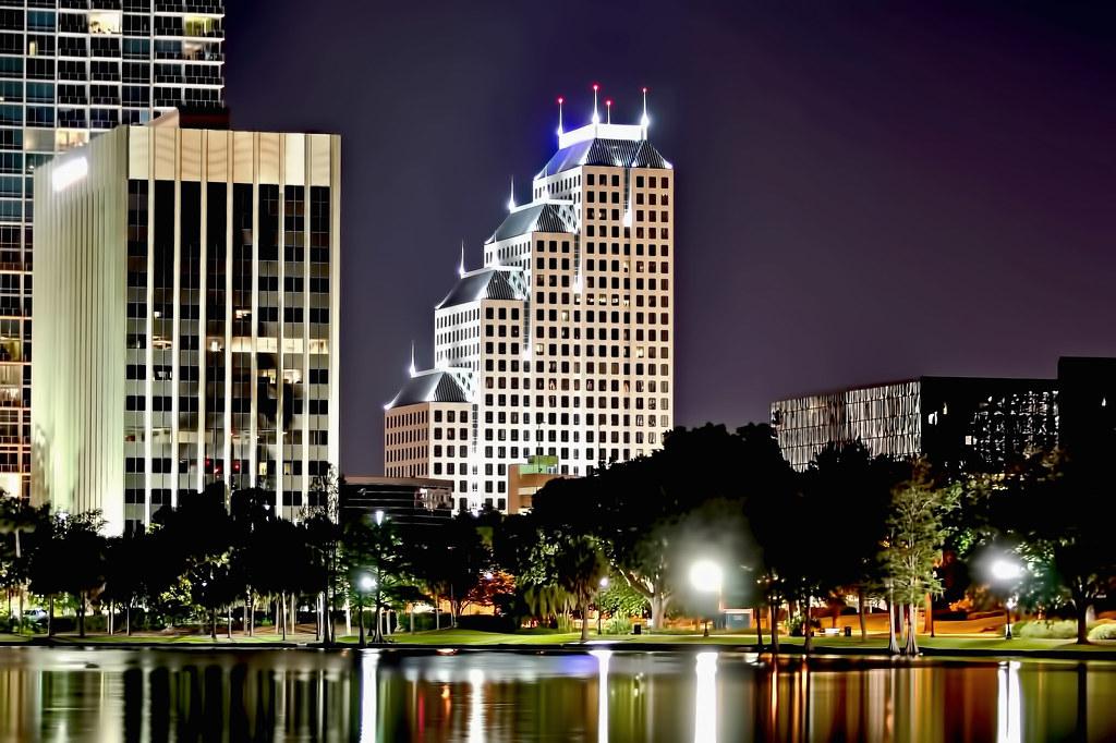 Bank Of America Center 390 North Orange Avenue Orlando