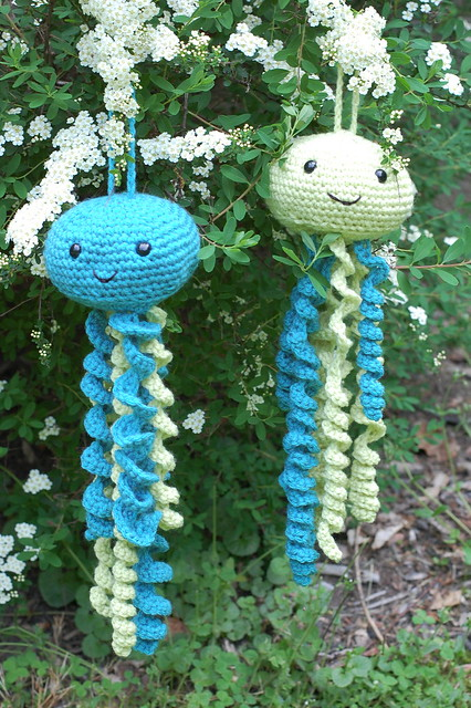 Crochet jellyfish