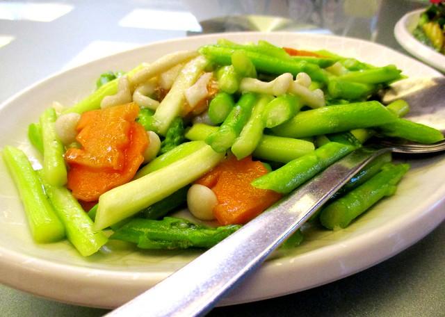 Asparagus with inogi