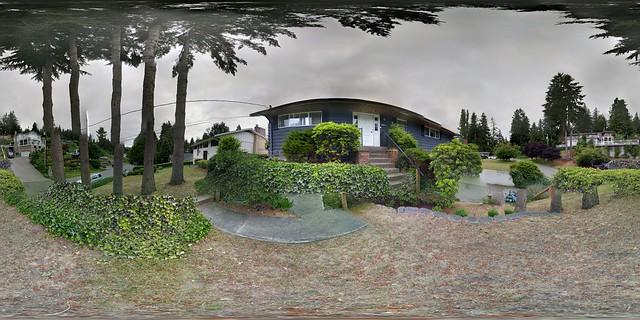 Front yard. Somewhat Escheresque.