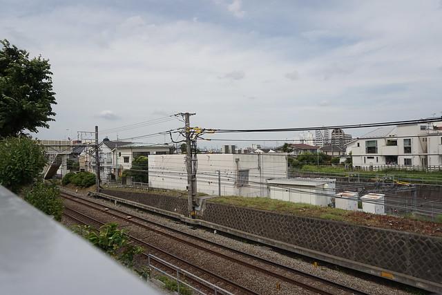 東京タワーと東京スカイツリー遠景
