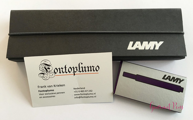 Review Lamy Safari Dark Lilac FP @Fontoplum0 016