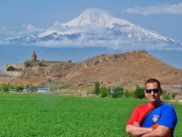 Sele en Khor Virap (Armenia)