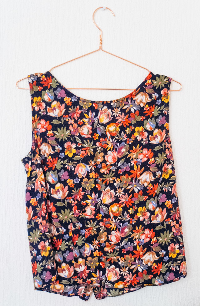 floral crop top from primark