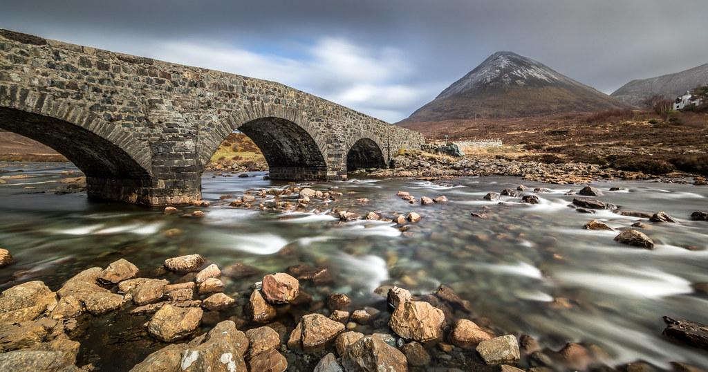 Sligachan Bridge Isle Of Skye Scotland United Kingdom