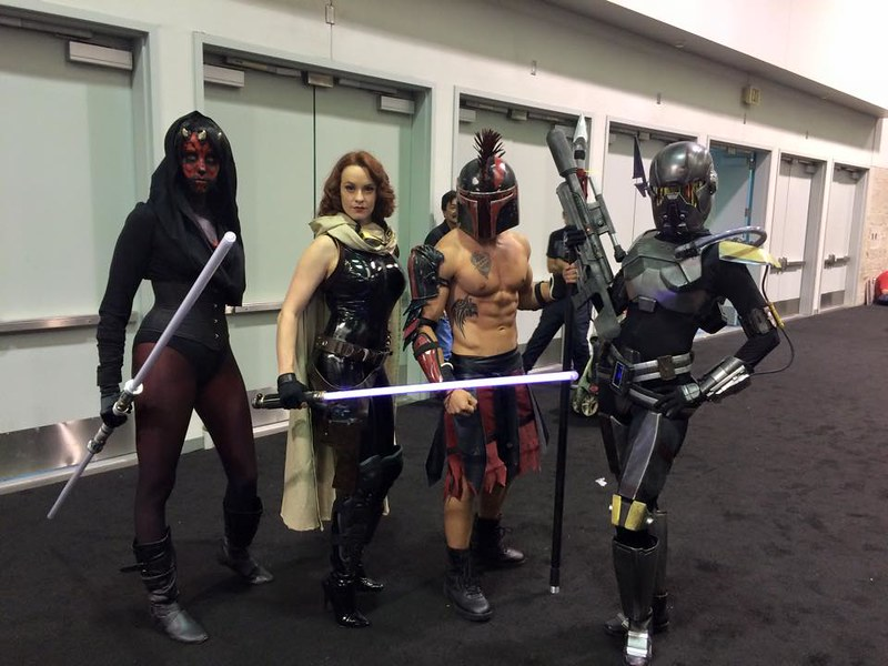 Shae and some Cosplayers
