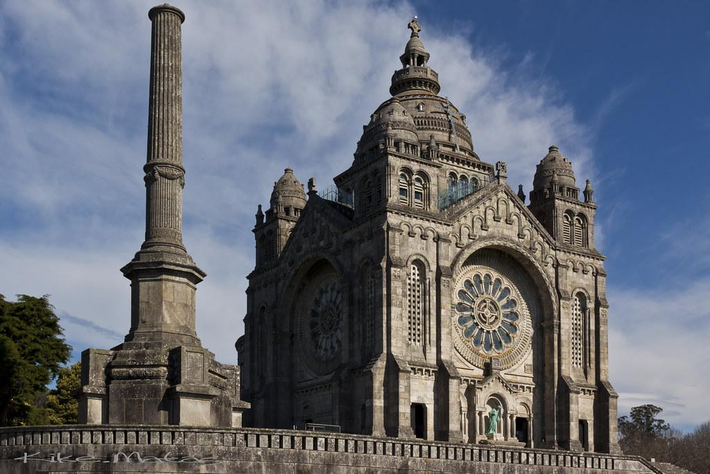 Santuario de santa lucia viana do castelo portugal flickr - Viana do castelo portugal ...