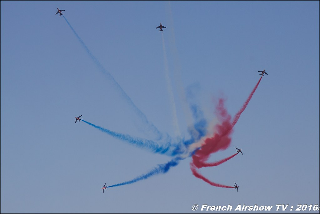 Patrouille de France 2016 , BA-701 Salon de Provence , Meeting Aerien 2016