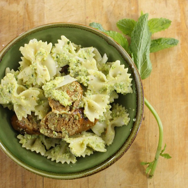 Food Network Magazine's Lemon Zucchini Pesto