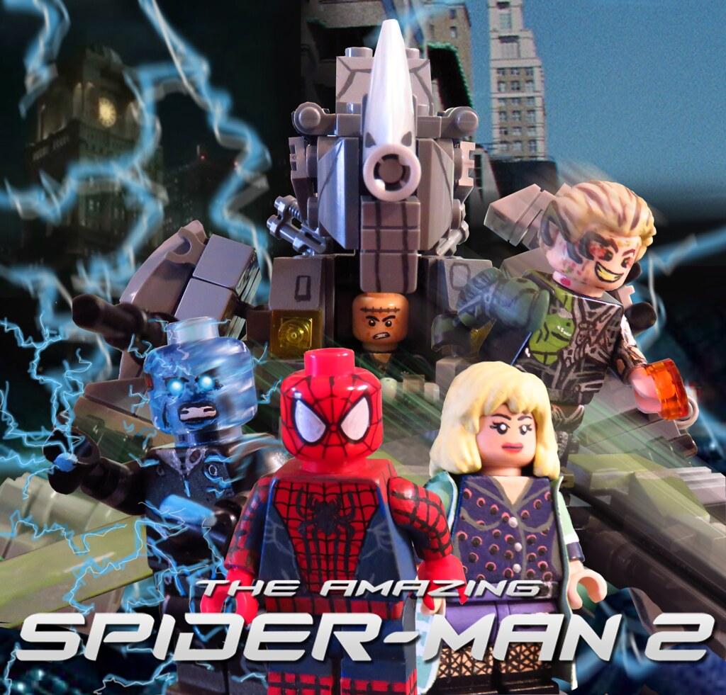 The amazing spider man 2 custom minifigures here are my cu flickr - Lego the amazing spider man 3 ...
