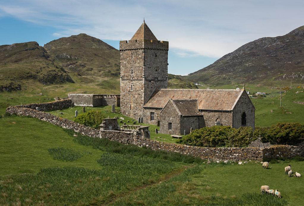 St Clement's Church, Rodel, Harris | St Clement's Church ...