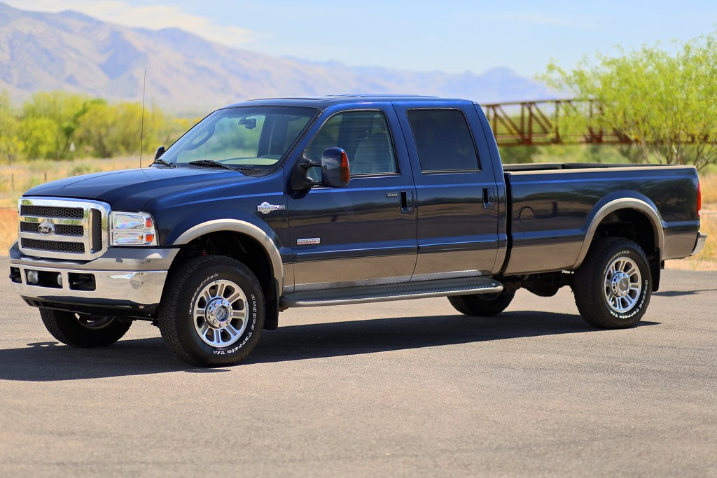 2006 ford f350 king ranch 4x4 diesel truck for sale. Black Bedroom Furniture Sets. Home Design Ideas