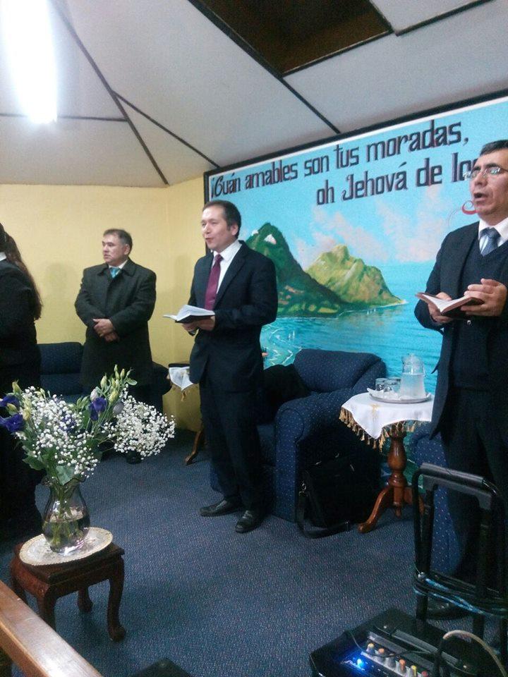 Media Vigilia en IMPCH Lenga junto a IMPCH Presidente Bulnes