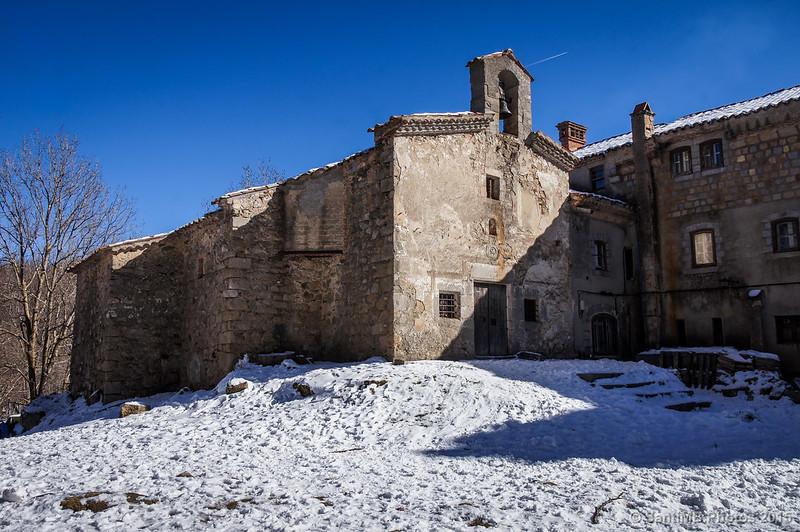 La ermita de Santa Fe del Montseny