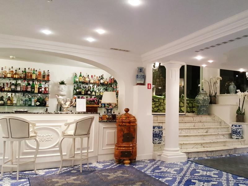 Casa Morgano Capri lobby