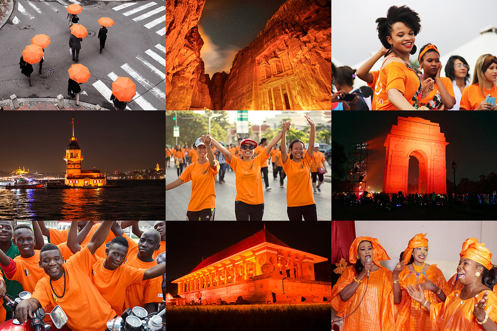 Orange the World 2015
