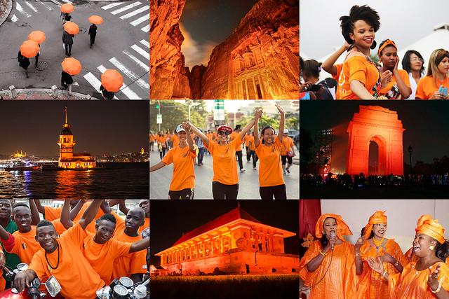 Orange the World 2015