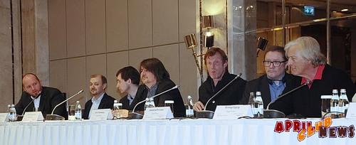 пресс-конференция, посвященная началу съемок фильма «Вий - 2. Путешествие в Китай»