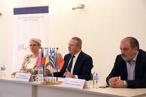 Встреча участников Дипломатического семинара с руководителем Представительства МИД России (3)