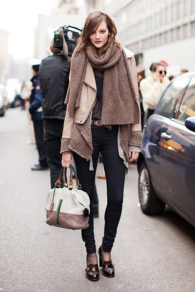 TIPS 1: use scarf super easy