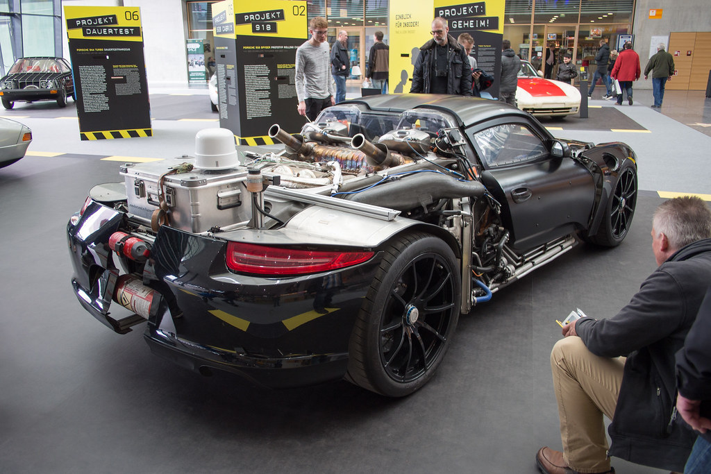 Porsche 918 Spyder Prototyp Rolling Chassis Olympus