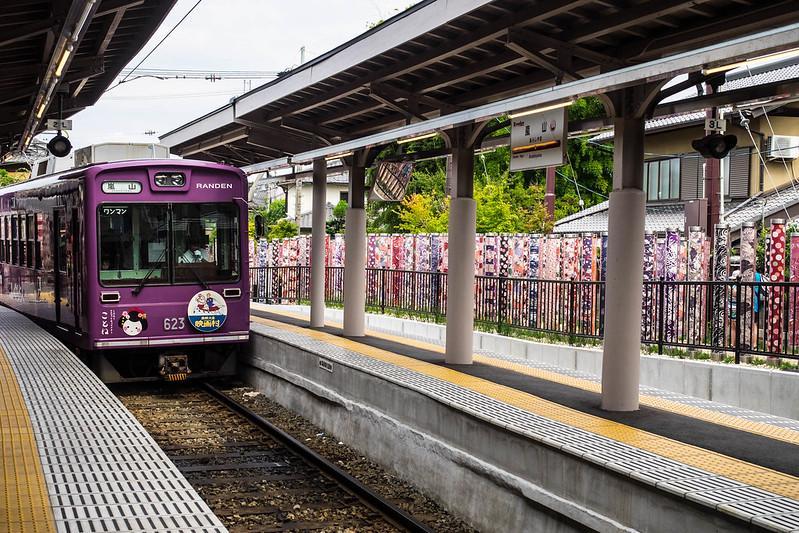Tranvía Eizan Arashiyama