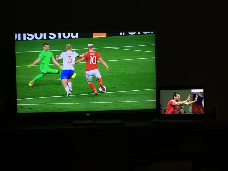 Russia 0 - 3 Wales