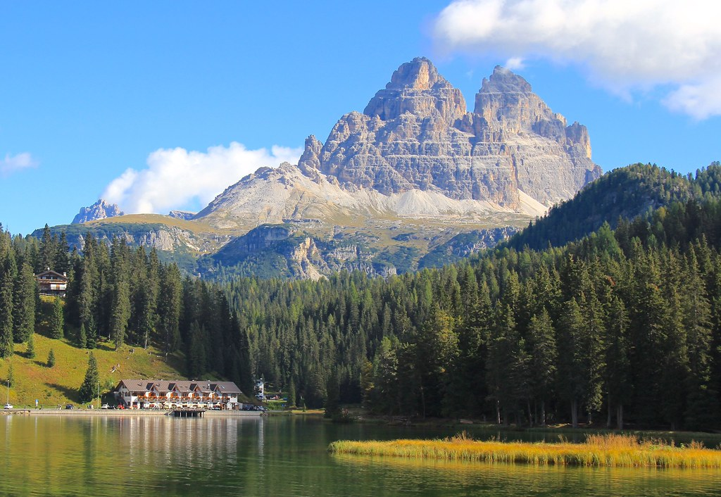 lago misurina dolomites italie ce lac est sur notre pa flickr. Black Bedroom Furniture Sets. Home Design Ideas