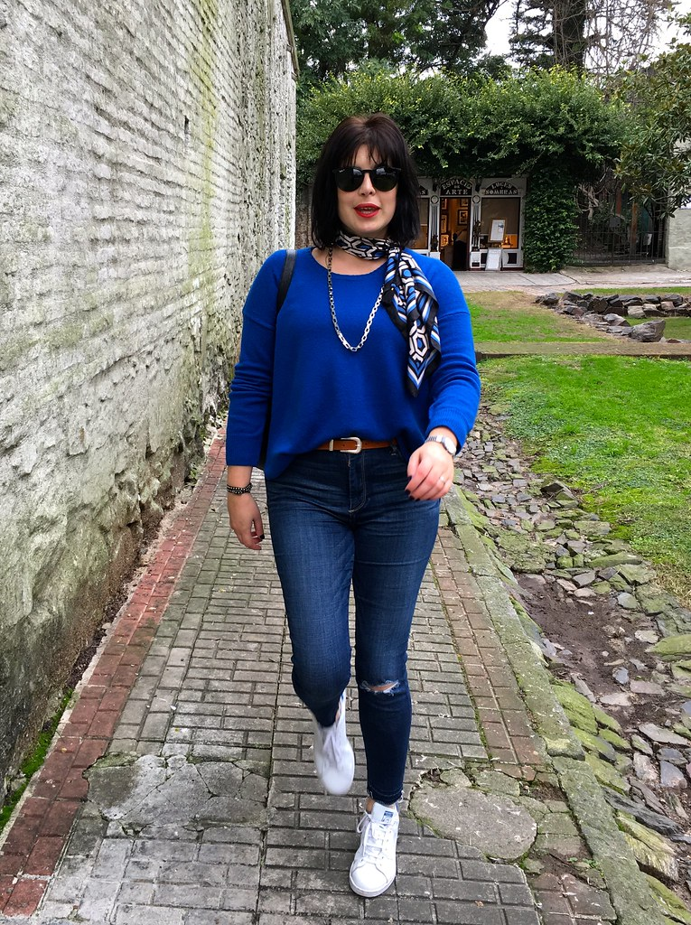 7 Outfit of the Day - Blues Black
