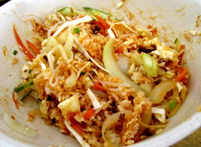Kimchi Korean bibimbab 3