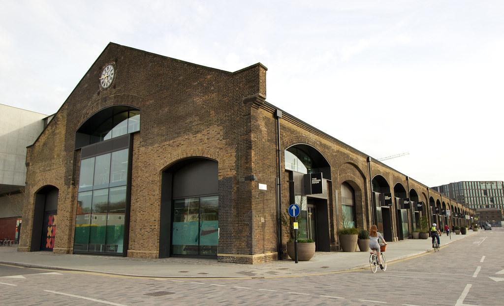 Western transit shed in kings cross