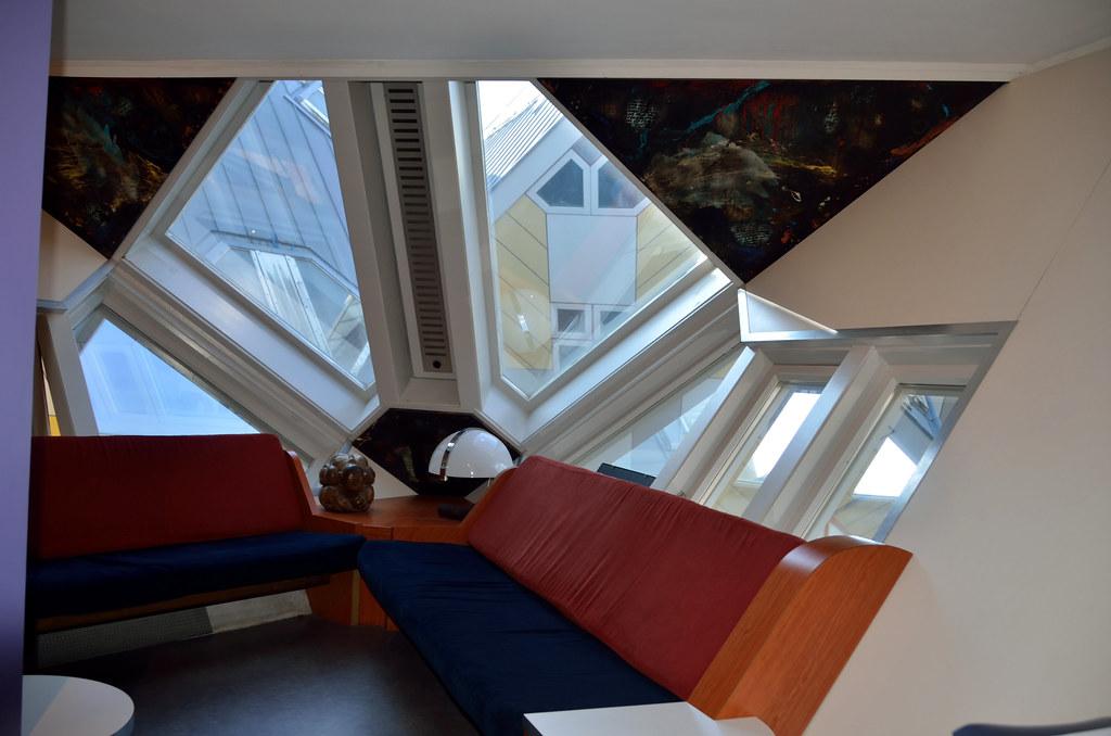 Rotterdam binnen in de kubuswoningen nederland 2015 flickr for Hartman interieur rotterdam