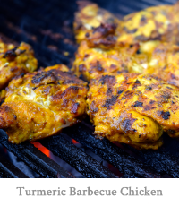 Tumeric Barbecue Chicken Thighs