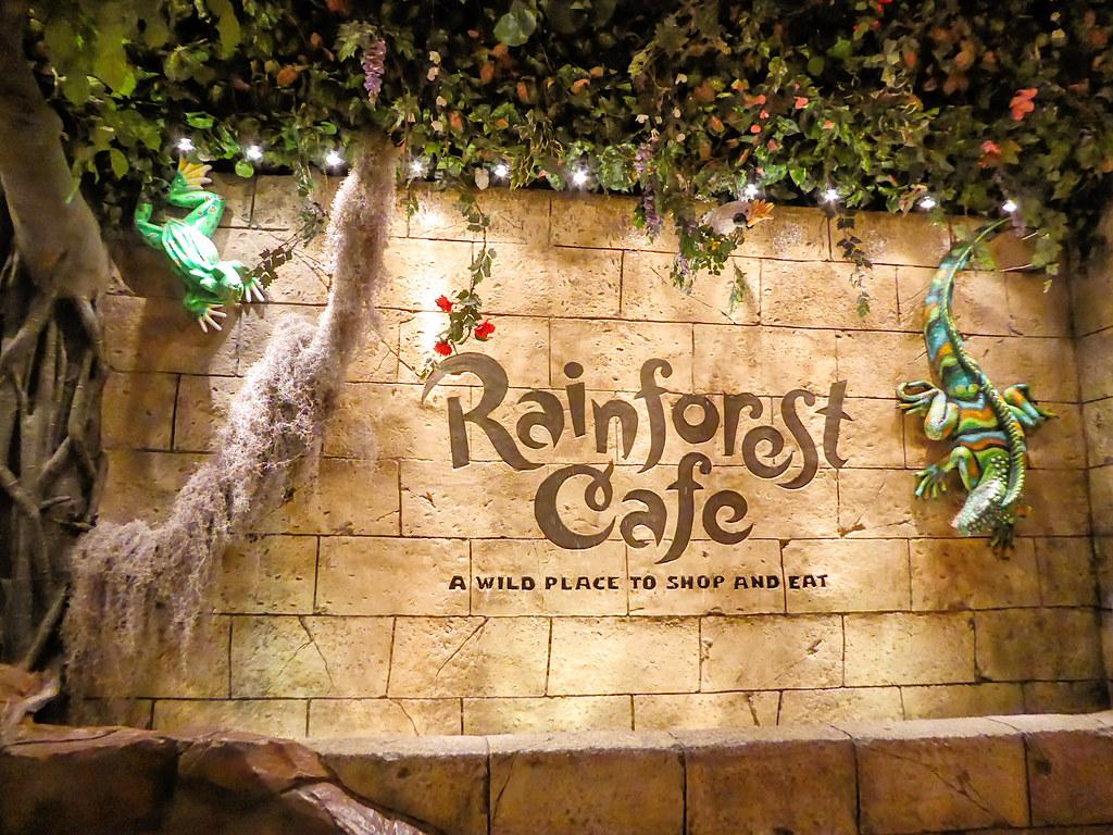 Call Rainforest Cafe Downtown Disney