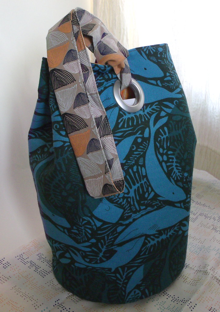 New knitting project bag