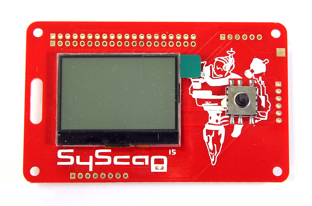 SyScan 2015 electronic badge