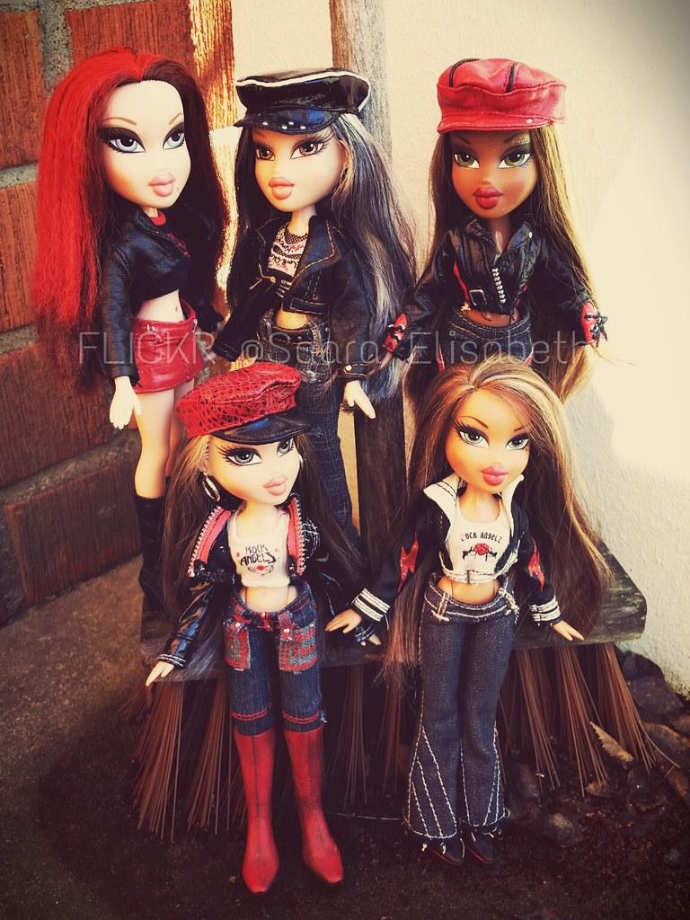 bratz rock angelz roxxi jade sasha cloe and yasmin flickr