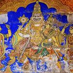 Lakshmi Narasimhar Paintings in Srirangam