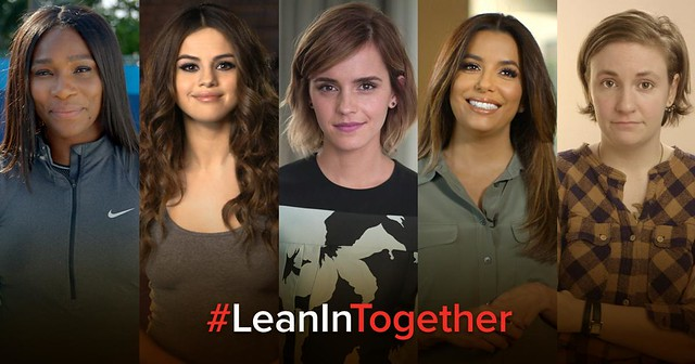 lean in together