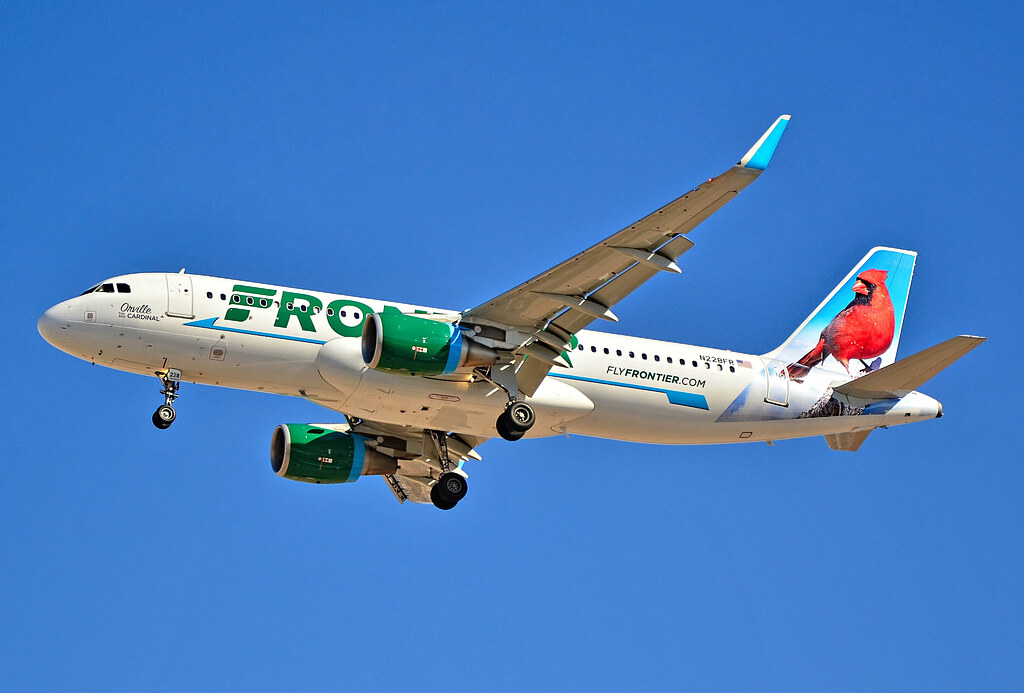 N228fr Frontier Airlines 2013 Airbus A320 214 Cn 5526 Quot Orv